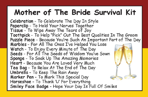 mother of the bride survival kit in a can [2] 6739 p